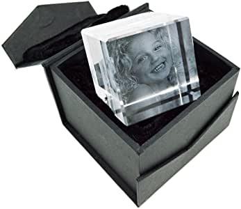 custom glass paperweight photo