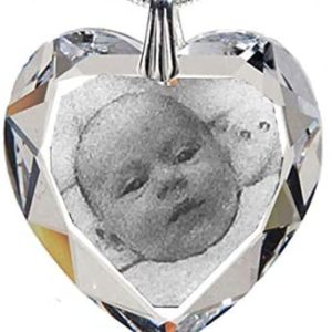 pendant heart engraving